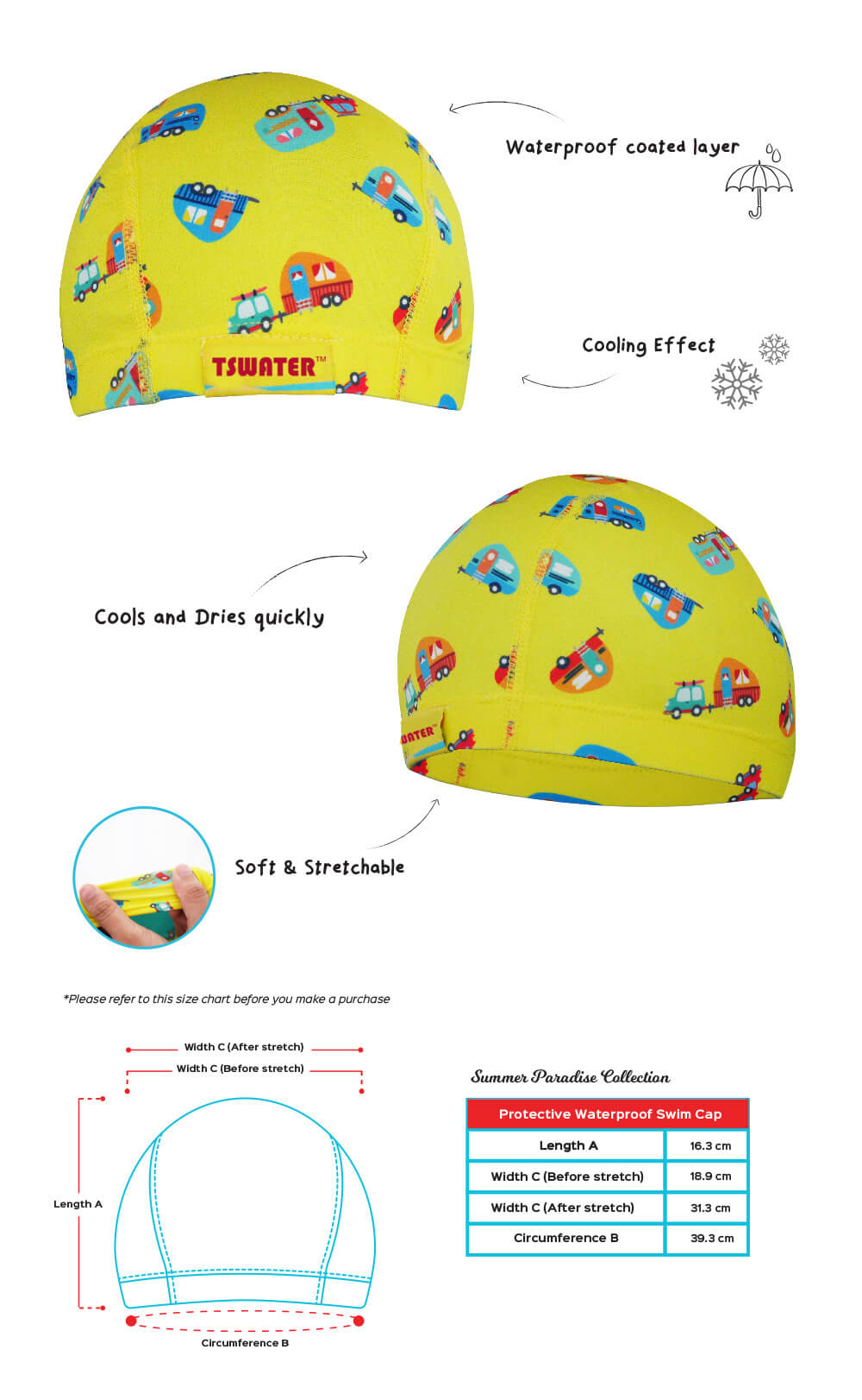 children swimming cap 2