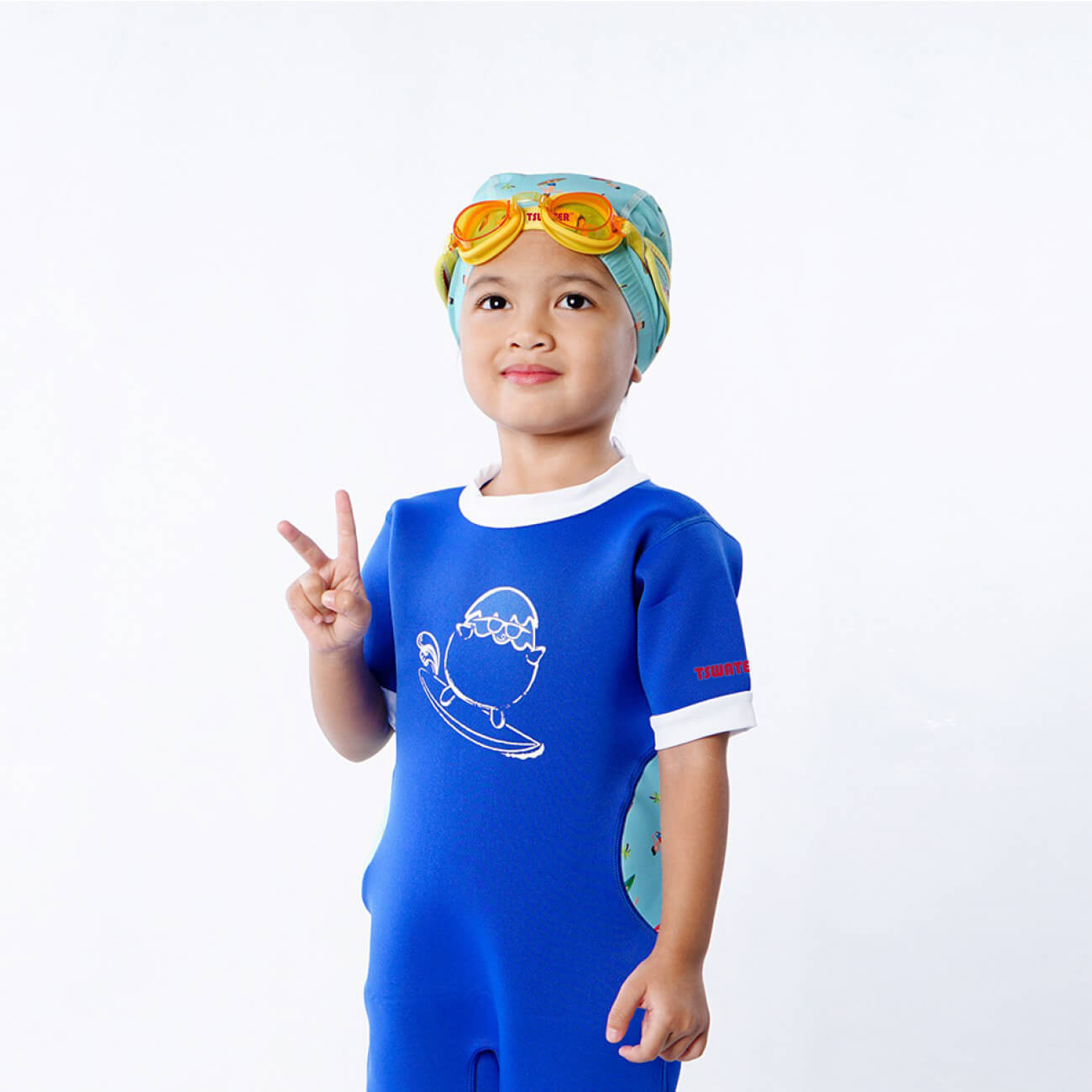 children swimming cap